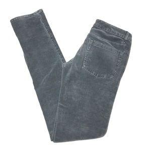 5/$25 BUNDLE Split Grey Skinny Corduroy Pants 1